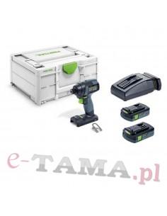 FESTOOL TID 18 C 3,1-Plus Akumulatorowa zakrętarka udarowa